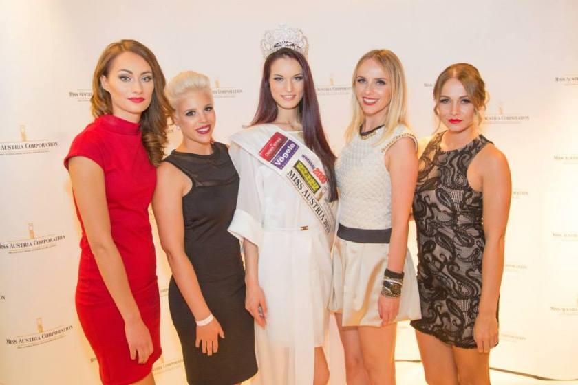 Das Team der Cambio Beautyacademy bei der Miss Austria Wahl 2015