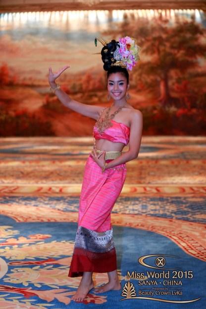 Miss FijiBrittany- Miss BahamasChantel - Miss ThailandThanyachanok- Miss BrazilCatharina - Miss PanamaDiana