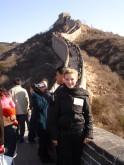 Eines von vielen Highlights: Der Besuch der chinesischen Mauer. Dafür sind wir extra von Santa nach Peking geflogen.