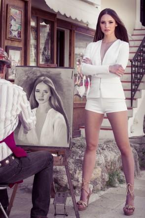 Miss Austria 2014 - Julia Furdea - Shooting Rhodos (2)