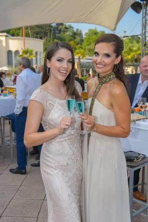 Miss Austria Wahl 2015 - Finale, Casino Baden, Baden bei Wien, 2.7.2015, Anna HAMMEL, Tanja DUHOVICH
