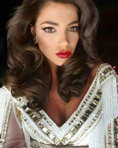 Miss Universe 2015 - Amina Dagi - Las Vegas - Shooting