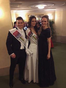 Mit Ex-Miss Austria Patricia Kaiser.