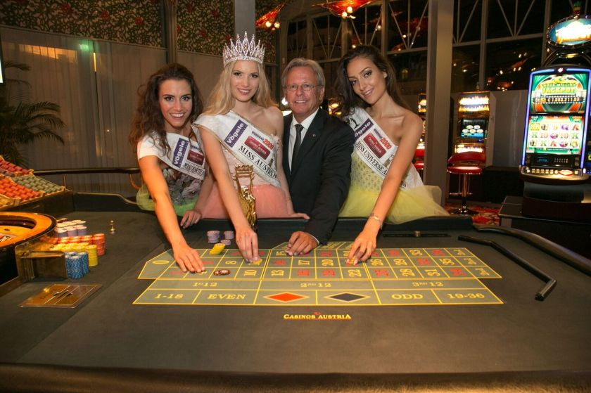 Miss Austria Casino Baden Roulette