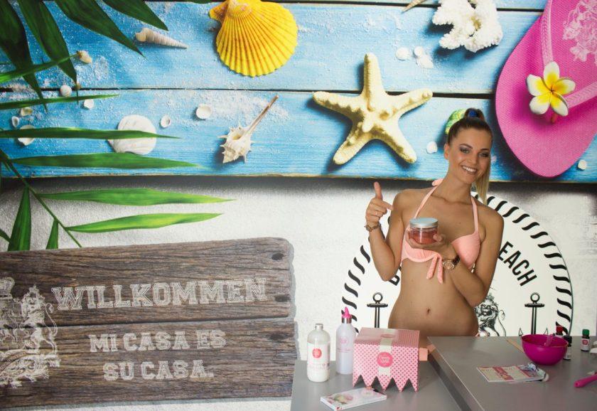 Miss Austria @ Bademeisterei - DIY Bodylotion, handgemacht, vegan