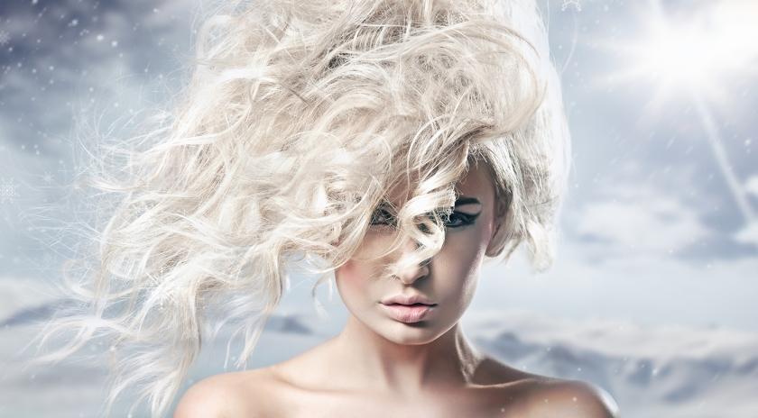 Winter Haare