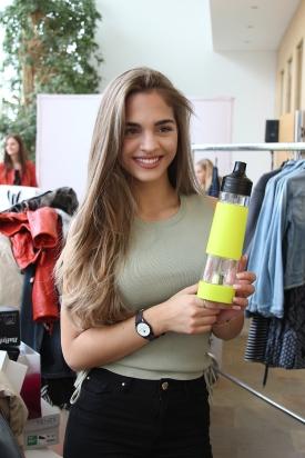 Nuapua bei Miss Austria