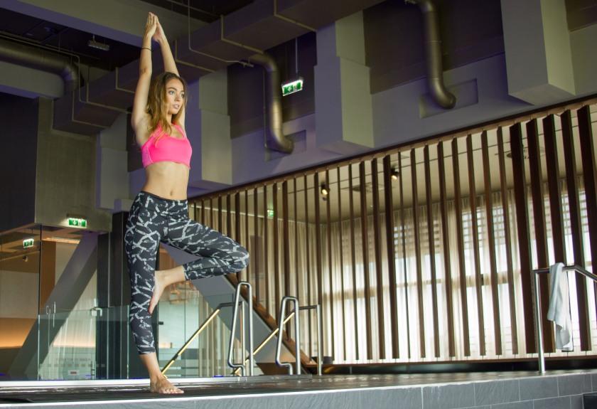 Yoga oder Pilates? Miss Austria